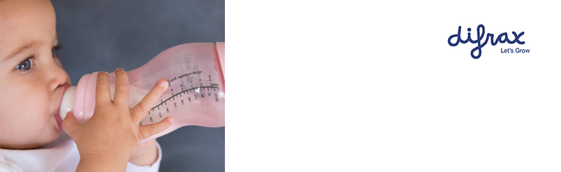 Difrax S-Flessen Smal 250ml