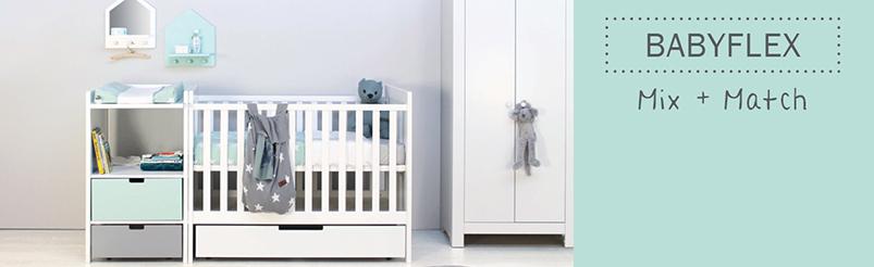 Bopita BabyFlex Commode 2 Deuren / 1 Lade