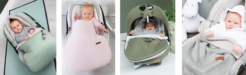 Baby's Only Voetenzak Autostoel
