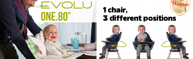 Childhome Evolu ONE.80°