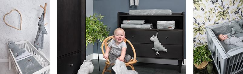 Baby's Only Marble Grijs/Zilvergrijs