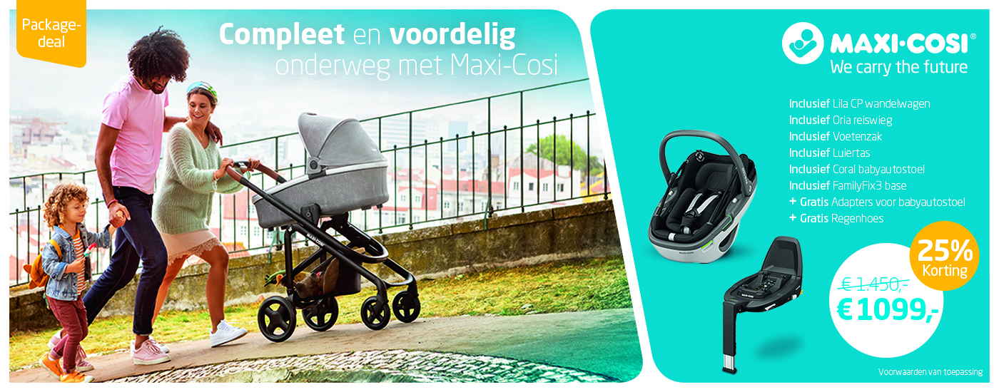 Maxi-Cosi Lila CP Packages