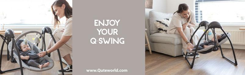 Qute Schommelstoel Q-Swing