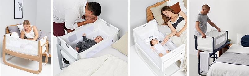 SnüzPod4® Bedside Crib
