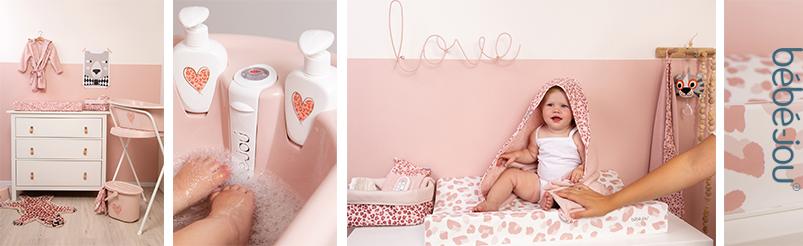 Bébé-Jou Leopard Pink