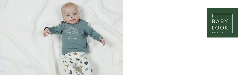 Babylook Diversen  Origami Blue