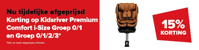 Kidsriver Premium Comfort i-Size Groep 0/1