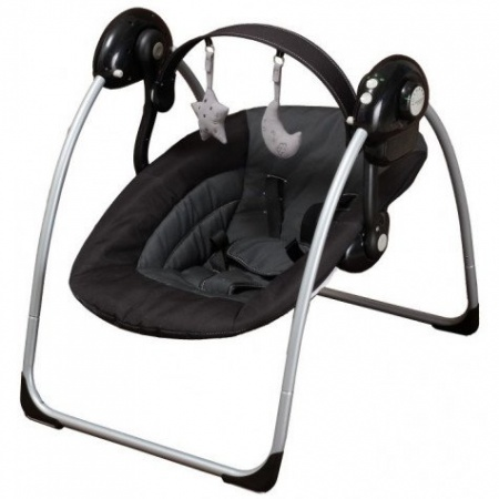 X-Adventure Schommelstoel Swing Black