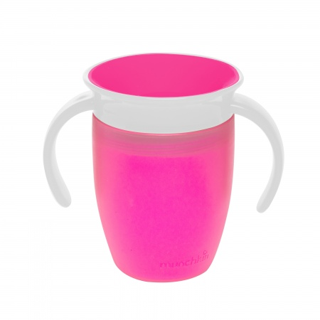 Munchkin Miracle 360° Trainer Cup Roze<br> 6mnd+ 207ml