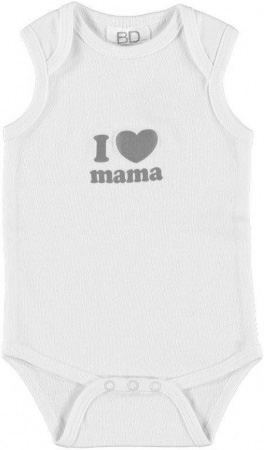 Babydump Collectie Romper I Love Mama