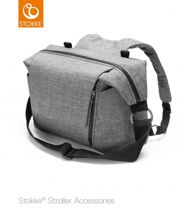 Stokke® Changing Bag Black Melange