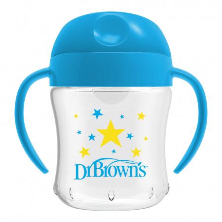 Dr. Brown's Beker Blauw 180ml Ass.