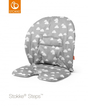 Stokke® Steps™ Baby Cushion Grey Clouds