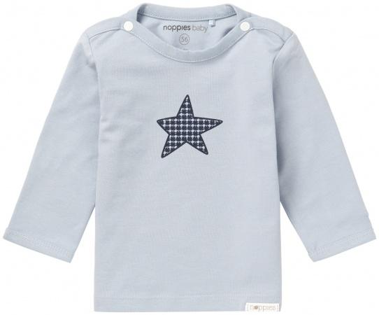 Noppies T-Shirt Monsieur Grey Blue