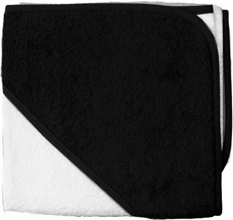 BD Collection Babycape Wit / Zwart