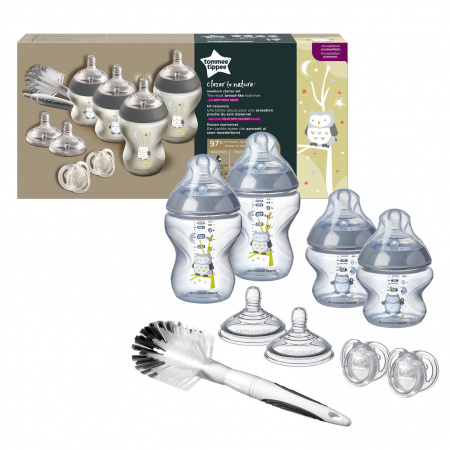 Tommee Tippee Closer To Nature Starterset Newborn Boy