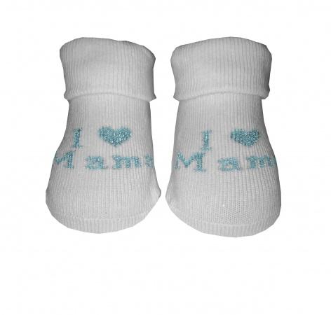 BD Collection Sokjes I Love Mama Mint