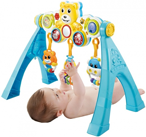 Bo Jungle B-Activity Arch Music & Lights Bear