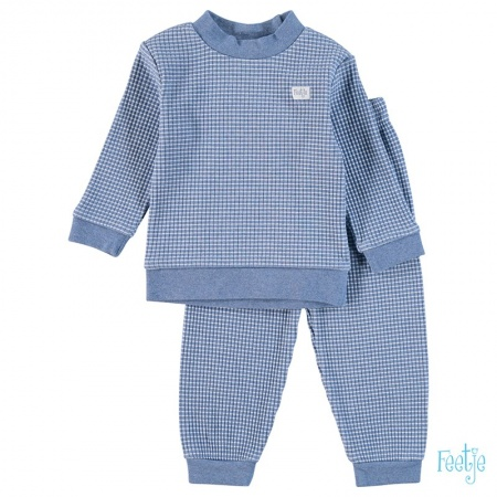 Feetje Pyjama Wafel Bluemelee