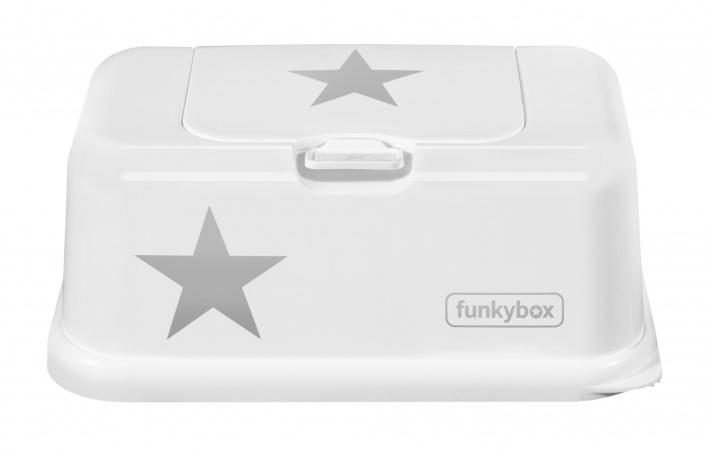 Funkybox Wit Met Zilveren Ster