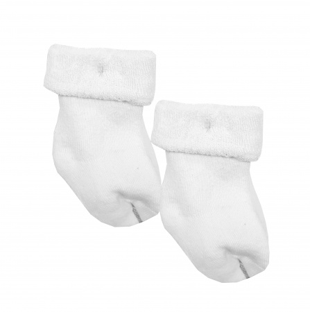 Babydump Collectie Sokjes 2-Pack White