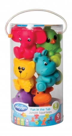 Playgro Fun In The Tub Jungle Squirtees