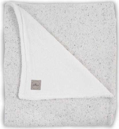 Jollein Wiegdeken Winter Confetti Knit Natural 75 x 100 cm