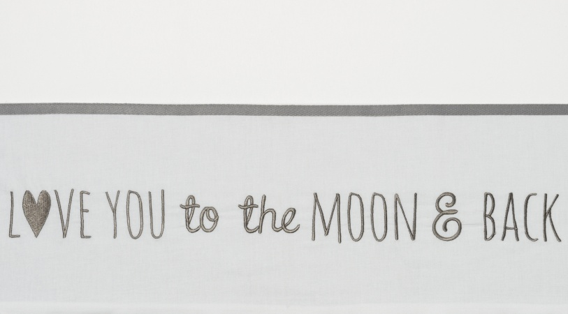 Meyco Wieglaken Moon Grijs <br> 75 x 100 cm