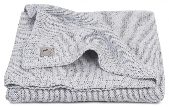 Jollein Ledikantdeken Zomer Confetti Knit Grey 100 x 150 cm