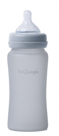 Bo Jungle Fles Glas 240ml Grey