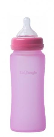 Bo Jungle Fles Glas 240ml Pink