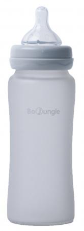 Bo Jungle Fles Glas 300ml Grey