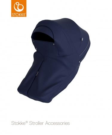 Stokke® Stroller Storm Cover Deep Blue