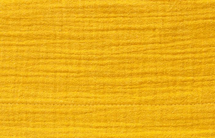 Cottonbaby Wieglaken Soft Okergeel <Br> 75 x 90 cm