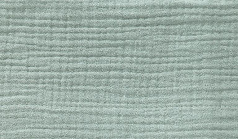 Cottonbaby Wieglaken Soft Oudgroen <Br> 75 x 90 cm