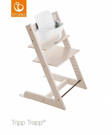 Stokke® Tripp Trapp® Whitewash incl. Baby Set