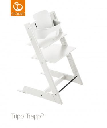 Stokke® Tripp Trapp® White incl. Baby Set