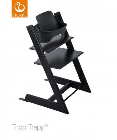 Stokke® Tripp Trapp® Black incl. Baby Set