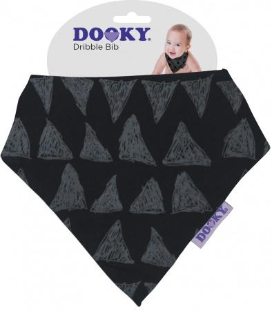 Dooky Dribble Bib Black Tribal