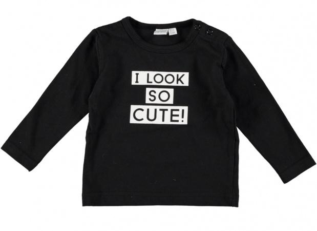 Babylook T-Shirt Cute Black