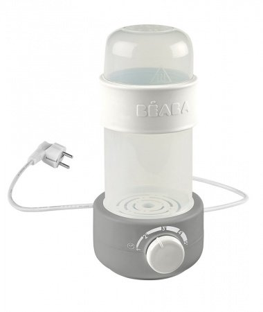 Beaba Flesverwarmer Baby Milk Second Grey