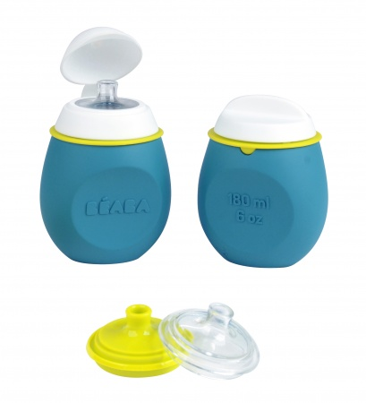 Beaba Babysqueez 2in1 + Portion Blue