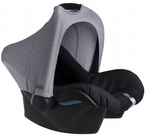 Baby's Only Kap Autostoel Sparkle Zilvergrijs Mêlee