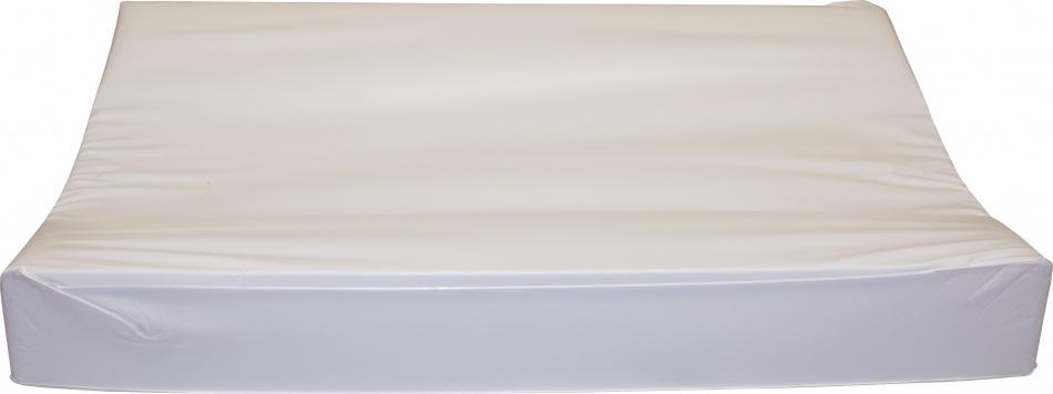 Babydump Collectie Waskussen Deluxe Uni Wit 72 x 45 x 9 cm.