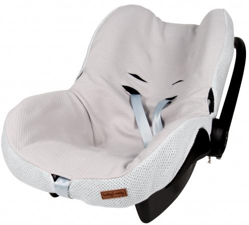 Baby's Only Autostoelhoes Classic Zilvergrijs 0+