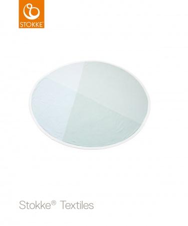 Stokke® Deken Ovaal Organic Cotton Knit Mint  <br> 95cm diameter