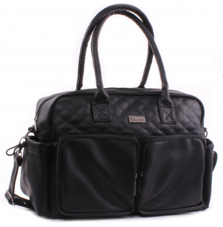 Kidzroom Diaperbag Vision Of Love <br> Fabienne Black