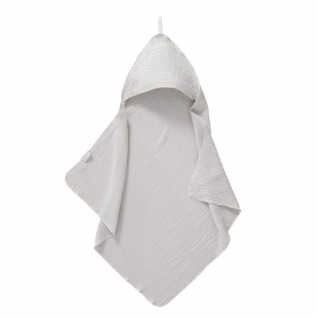 Cottonbaby Badcape Soft Grijs