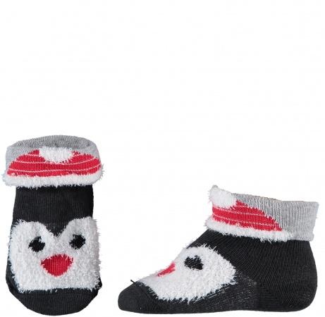 Sarlini Sok Pinguin Zwart