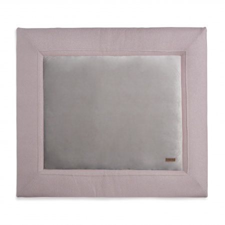 Baby's Only Boxkleed Sparkle Zilver-Roze Mêlee   80 x 100 cm
